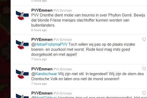 'Namaak Twitter-account PVV moet stoppen'