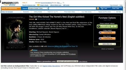 'Amazon werkt aan eigen streaming-service'