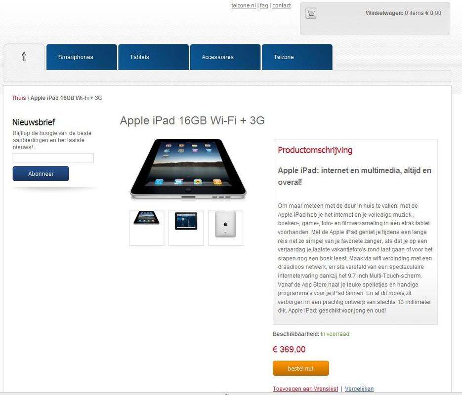 Goedkope iPads blijken bedrog