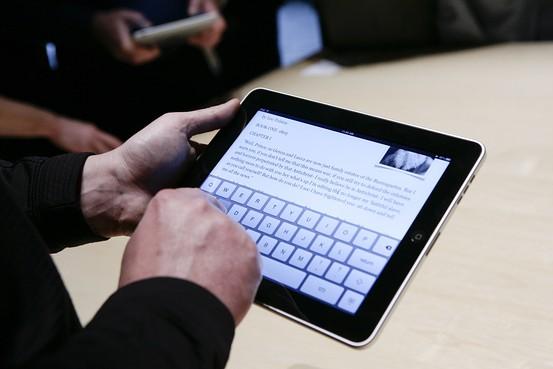 Zoekertjewebsites overspoeld met iPad-zoekertjes