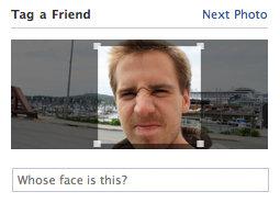 Nieuwe tag-optie foto's Facebook