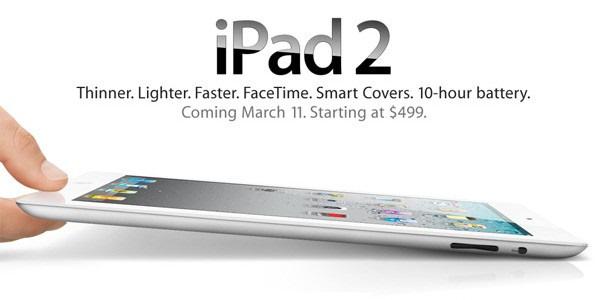 iPad 2 vrijdag gelanceerd