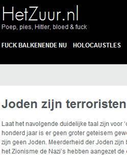 3 Nederlandse websites aangeklaagd wegens Jodenhaat