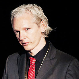 Assange geniet van informatie banken