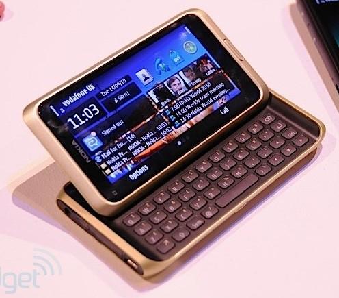 Nokia stelt E7 uit