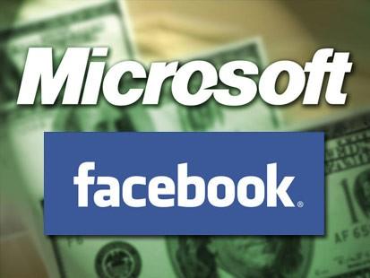 Microsoft onderhandelt opnieuw met Facebook