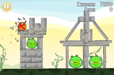 Angry Birds ook op Wii en Xbox