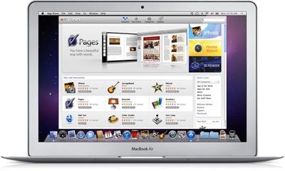 Mac App Store gelanceerd