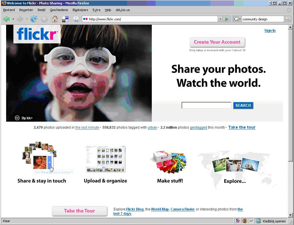 Flickr verwijderd foto's geheime agenten
