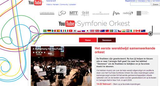 Nederlandse veroverd plek in Youtube Symfonie Orkest