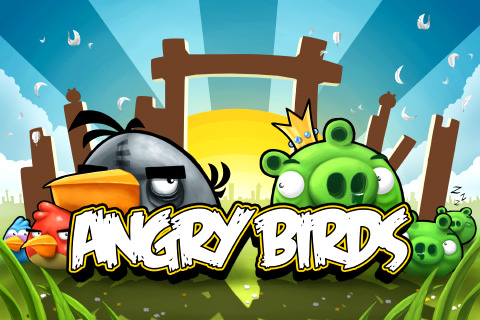 Facebook-versie van Angry Birds
