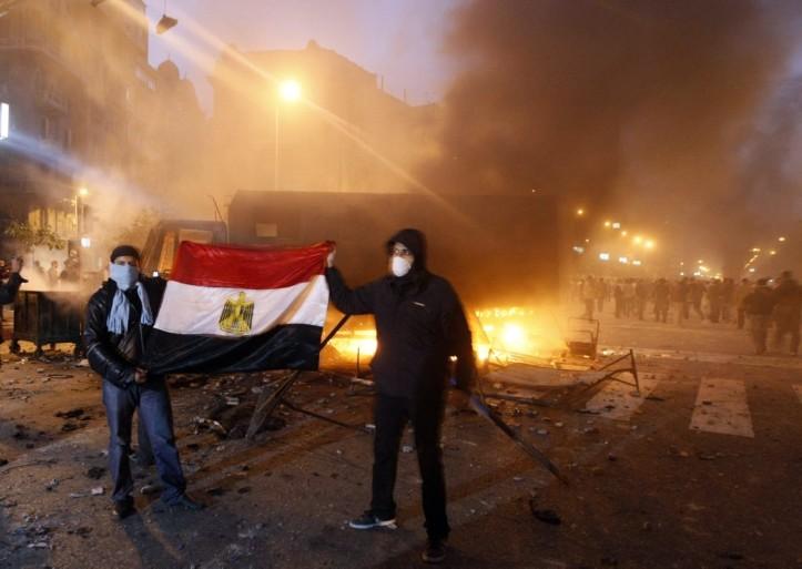 Geen mobiel verkeer Egypte meer