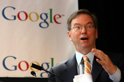 Eric Schmidt klaagt over internetbubbel