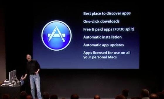 Mac App Store opent 6 januari
