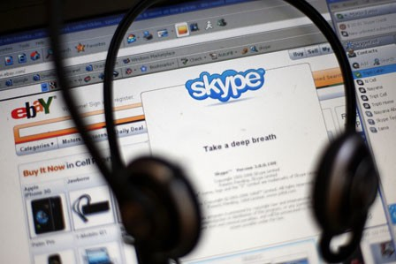 Skype kampt met storing
