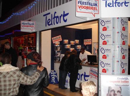 Telfort kampt met storing