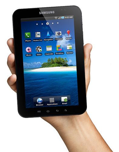 Samsung komt met 8,9-inch Galaxy Tab