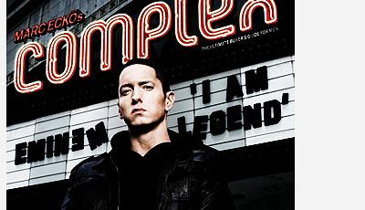 Eminem is het hotst op internet