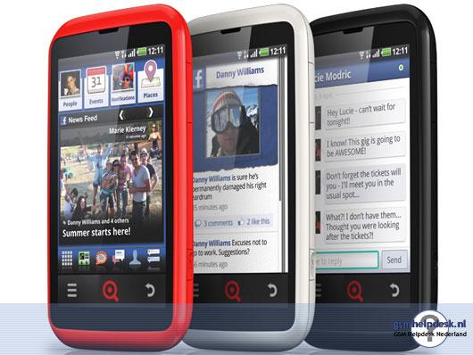 INQ bevestigt bestaan Facebook-telefoon