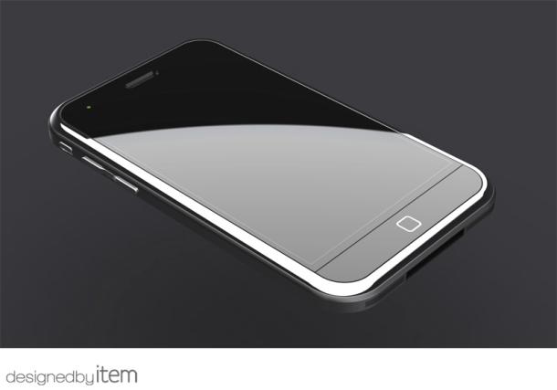 'iPhone 5 krijgt mogelijk gebogen scherm'