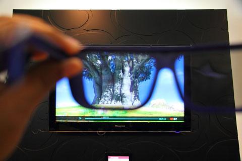 Eerste portable 3D-televisies op komst