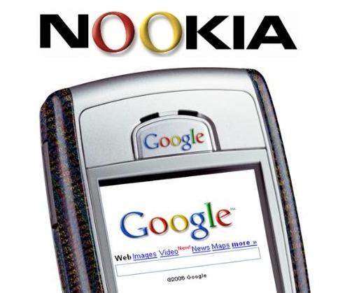 Google heeft oog op samenwerking Nokia