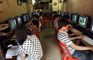 Avondklok voor Vietnamese gamers