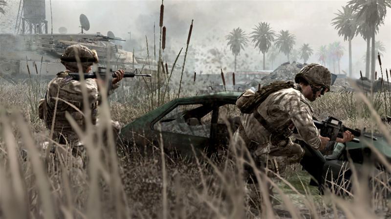 Oorlogsgames goed voor oorlogstrauma's